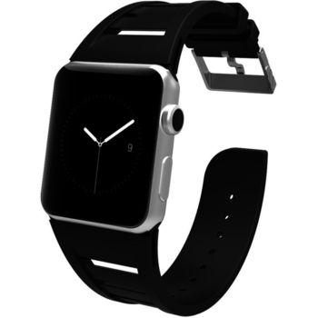 Case Mate výměnný řemínek Vented pro Apple Watch 42mm, černý