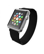 Incipio výměnný řemínek Stitch pro Apple Watch 42mm, černý