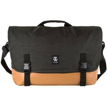 """Crumpler Private Surprise XL nylonová taška 17.3"""" - černá/oranžová"""