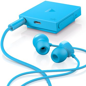 Nokia BH-121 Bluetooth Stereo Headset NFC, modrá