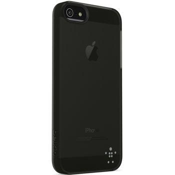 Belkin pouzdro Shield Sheer Acryl pro Apple iPhone 5 - průhledné černé (F8W162vfC00)