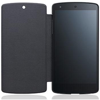 LG flipové pouzdro QuickCover CCH-250A pro LG Nexus 5, černé