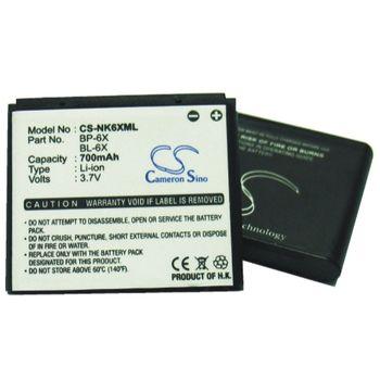 Baterie náhradní Nokia 8800 (BL-6X/BP-6X, 700mAh)