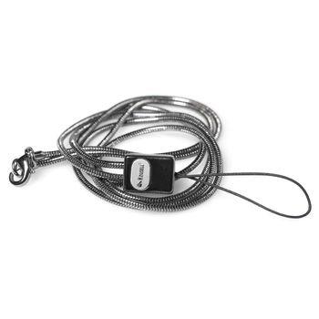 Krusell Neck Strap Stain.Black Matte - poutko kov - Black Oxide