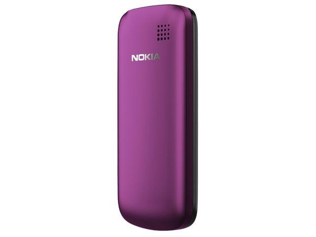 obsah balení Nokia C1-02 Plum + pouzdro Krusell Gaia černé