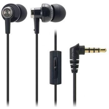 Audio Technica špuntová sluchátka ATH-CK400XPBK pro telefony SE Xperia, černá