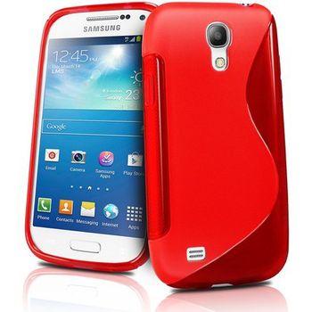 Brando pouzdro měkké plastové pro Galaxy S4 mini, červená