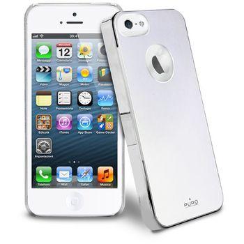 PURO pouzdro Metal Cover pro Apple iPhone 5 - bílá