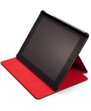 Element Case pouzdro Soft-Tec Wallet pro iPad 4, černo-červená