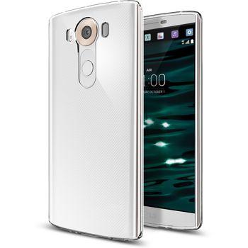 Spigen tenký kryt Liquid Crystal pro LG V10, transparentní