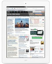 Apple iPad s Retina displejem Wi-Fi + Cellular 16GB bílý