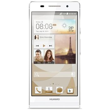 Huawei Ascend P6, bílá